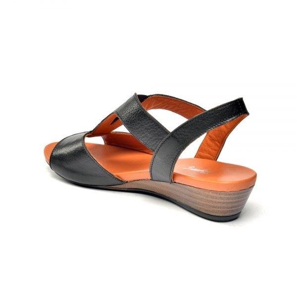 Marua Ortopedik Sandalet Siyah