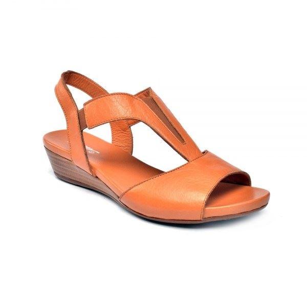 Marua Ortopedik Sandalet Taba