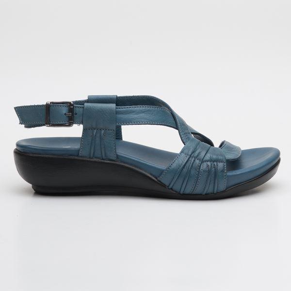 Patrizia Ortopedik Sandalet Mavi