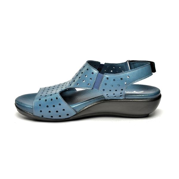 Marsala Ortopedik Sandalet Mavi