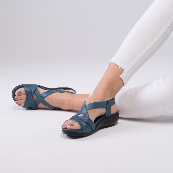 Mintha Sandalet Mavi