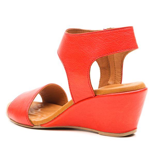 Pietra Ortopedik Sandalet Kırmızı