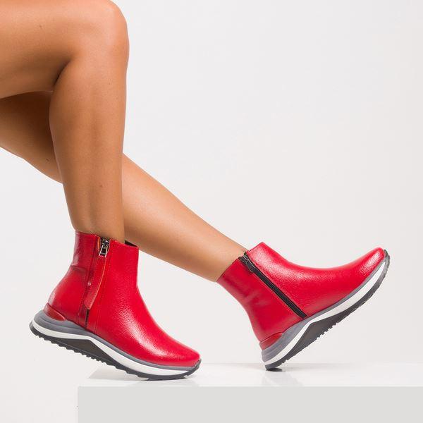 Dante Kadın Spor Bot Kırmızı Rugan