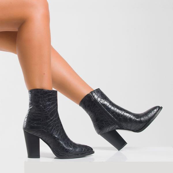Lupita Kadın Bot Siyah Fasulye