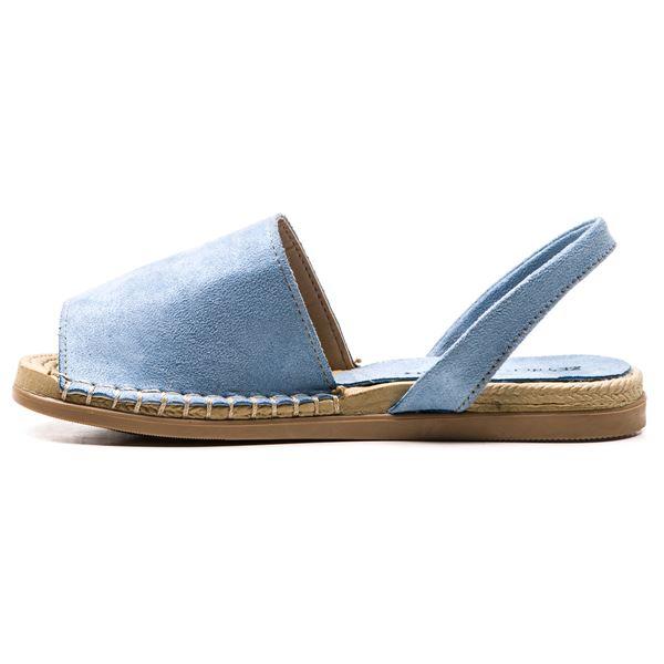 Alanzo Sandalet Mavi Süet