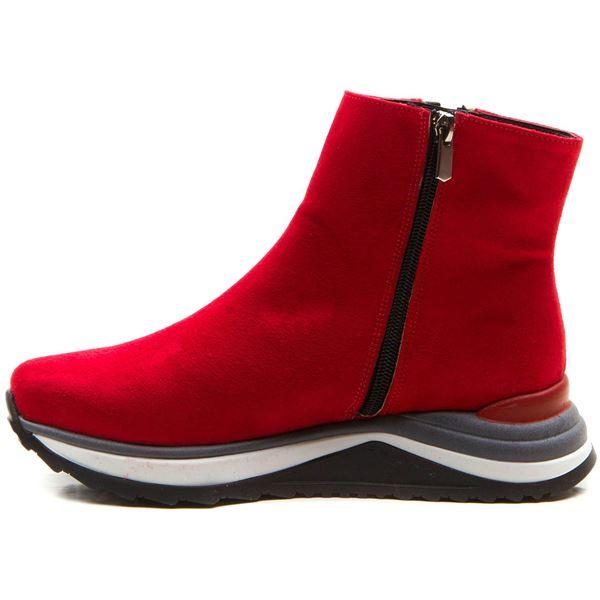 Dante Kadın Spor Bot Kırmızı Süet