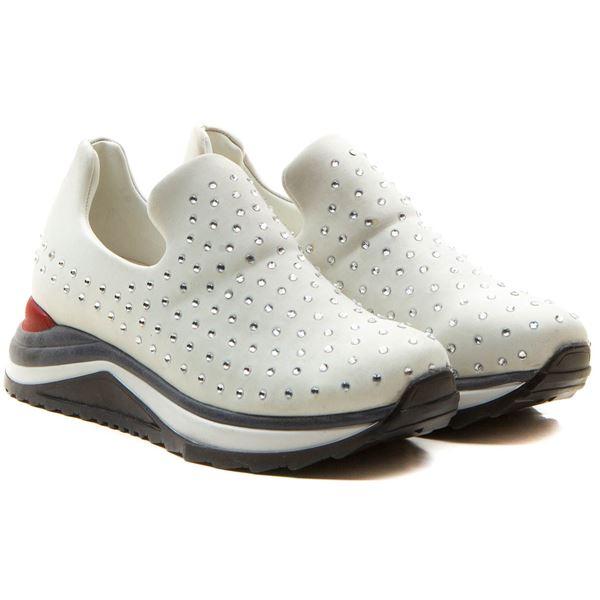 Berthe Kadın Ayakkabı Beyaz Dalgıç