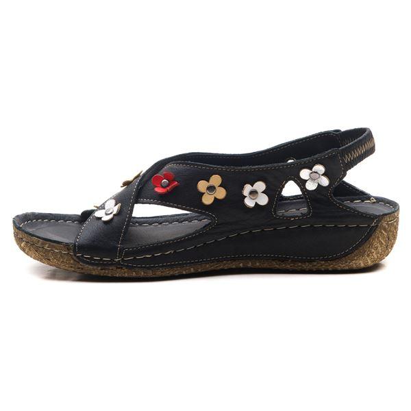 Alanis Kadın Deri Sandalet Siyah
