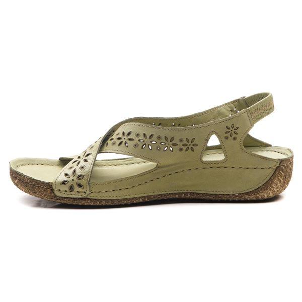Adriel Kadın Deri Sandalet Su Yeşili