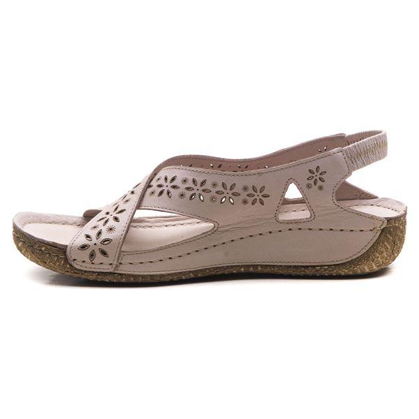 Adriel Kadın Deri Sandalet Buz
