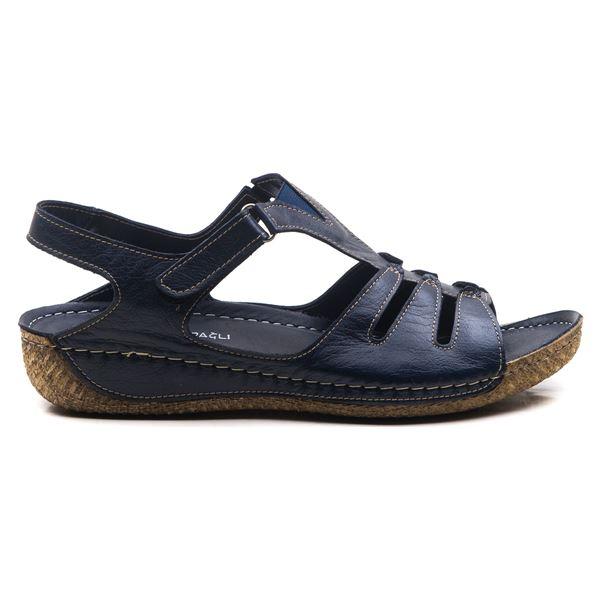 Angelo Kadın Deri Sandalet Laci