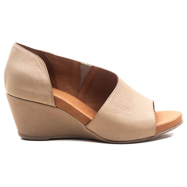 Anjali Kadın Dolgu Topuk Sandalet Kum