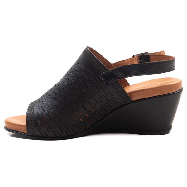 Aspen Kadın Dolgu Topuk Sandalet Siyah