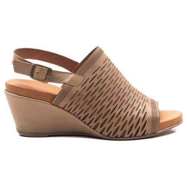 Aspen Kadın Dolgu Topuk Sandalet Kum