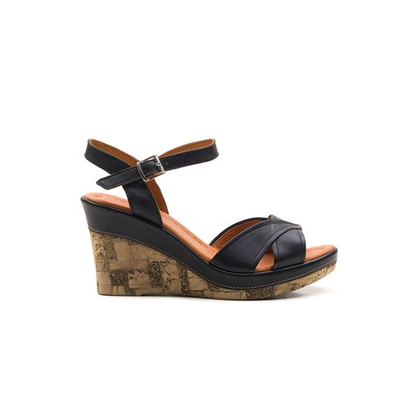 Riccarda Ortopedik Sandalet Siyah