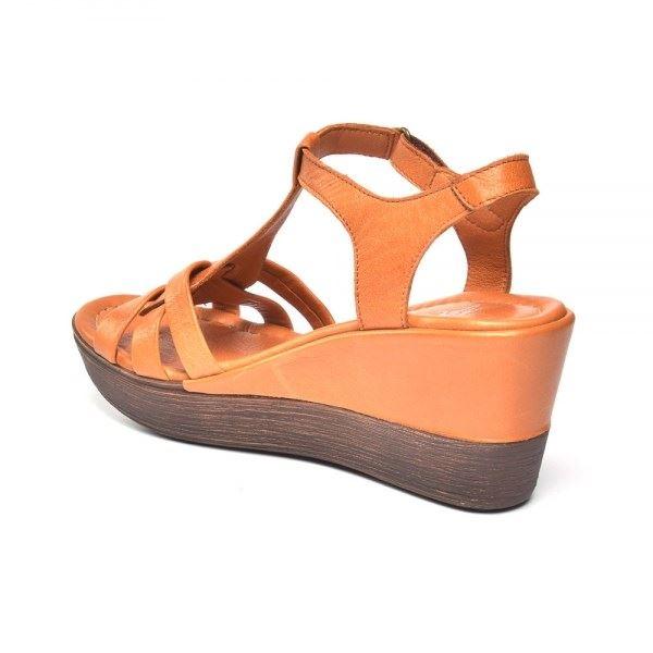 Cerelia Deri Sandalet Taba