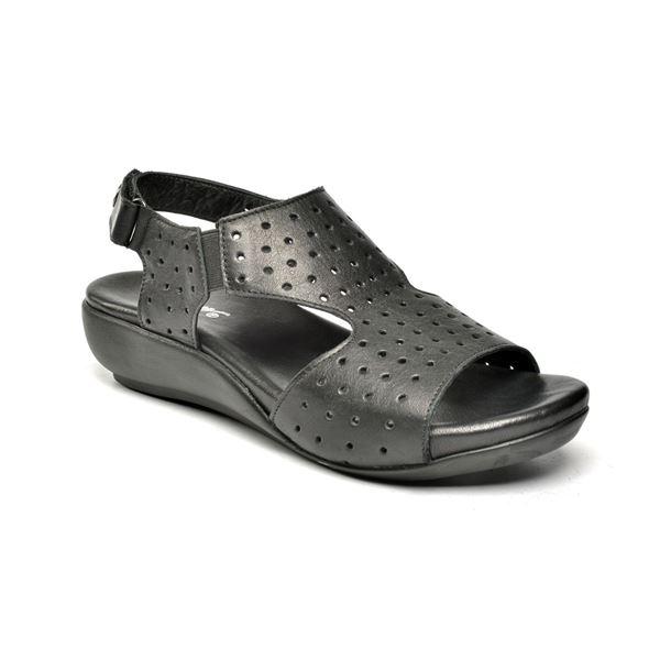 Marsala Ortopedik Sandalet Siyah
