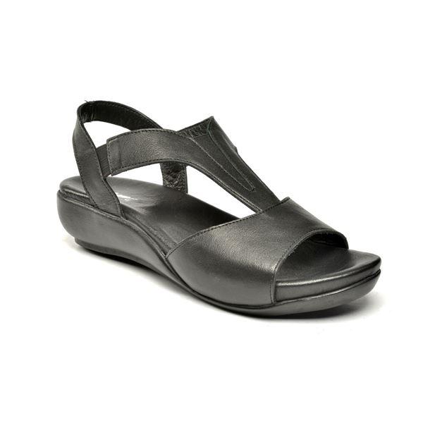 Massima Ortopedik Sandalet Siyah