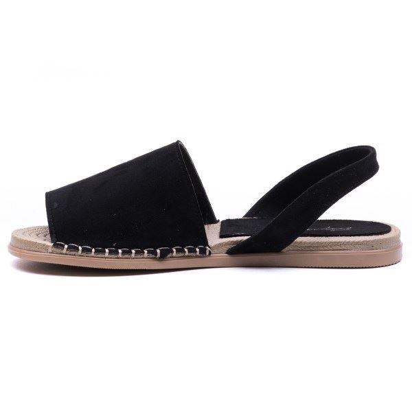 Alanzo Sandalet Siyah Süet