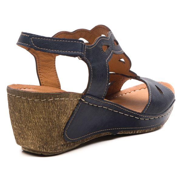 Alinda Kadın Dolgu Topuk Sandalet Laci