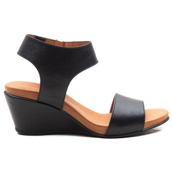 Pietra Ortopedik Sandalet Siyah