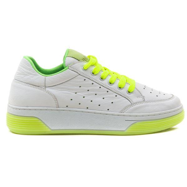 Candyy Kadın Spor Ayakkabı Beyaz Fıstık Yeşil