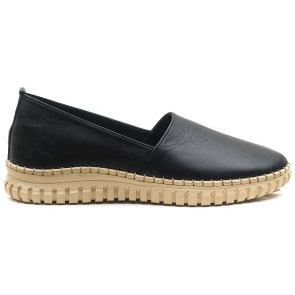 Merida Kadın Deri Ayakkabı Siyah