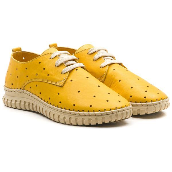 Harisso Kadın Deri Ayakkabı Sarı
