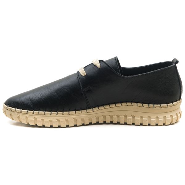 Orivva Kadın Deri Ayakkabı Siyah