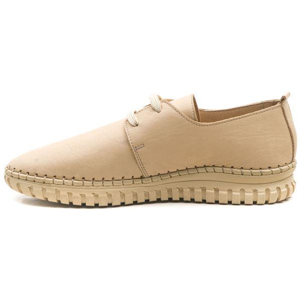 Orivva Kadın Deri Ayakkabı Bej