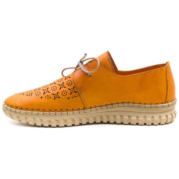 Joely Kadın Deri Ayakkabı Oranj