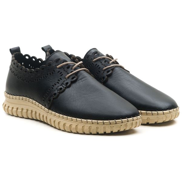 Clematis Kadın Deri Ayakkabı Siyah