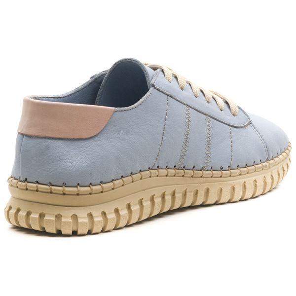 Cherry Kadın Deri Ayakkabı Bebe Mavi Pudra