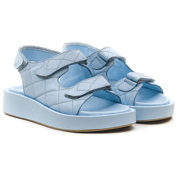 Arizonna Kadın Sandalet Bebe Mavi