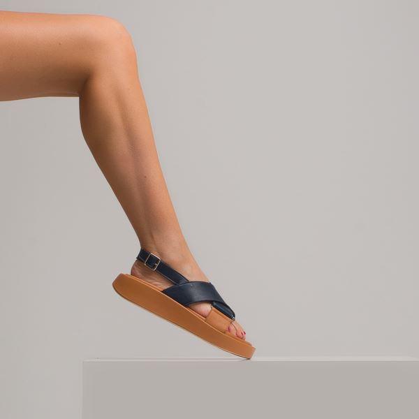 Dıegor Kadın Sandalet Laci Taba