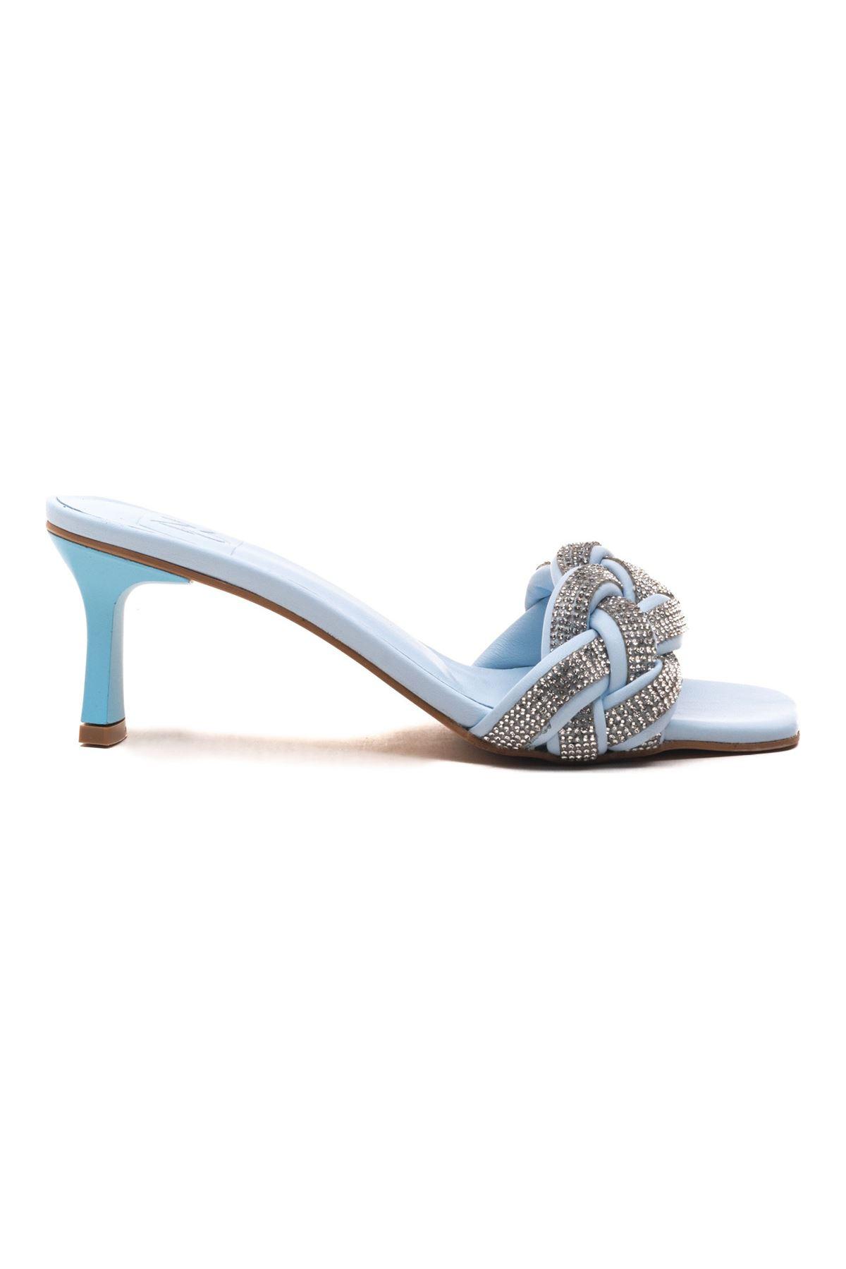 Venezio Kadın Terlik Bebe Mavi