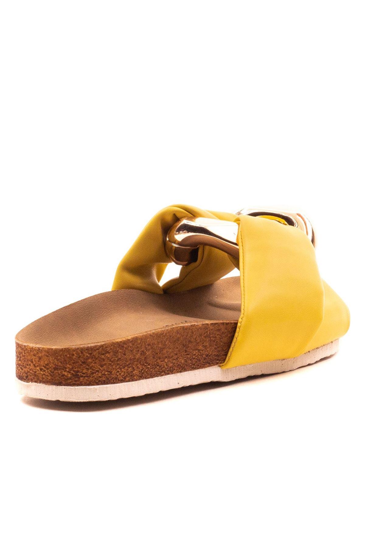 Goldea Kadın Terlik Sarı