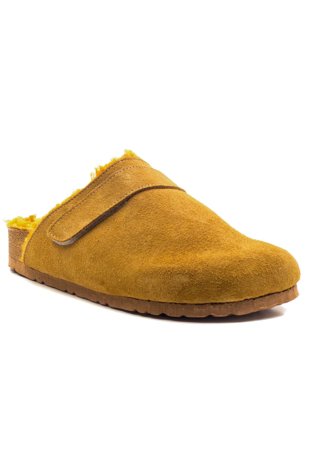 Silvest Kadın Terlik Sarı-süet